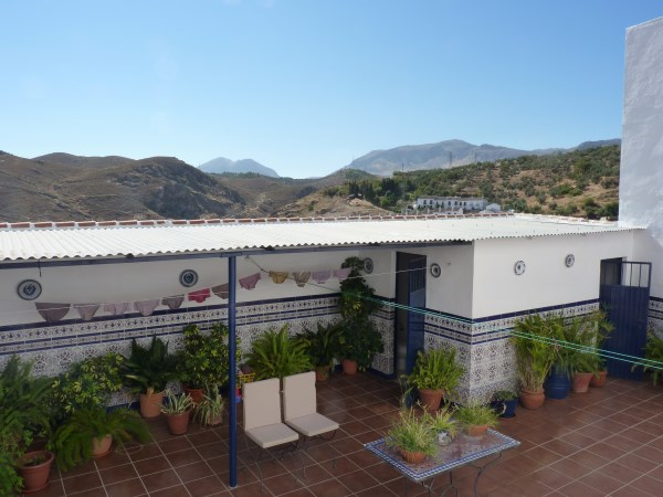 Spacious townhouse with nice views in an historic area of Antequera town.